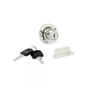Cylinder lock for Emuca drawer