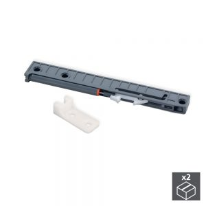Emuca soft closing kit for drawer with T30 ball bearing runners L 350-800 mm