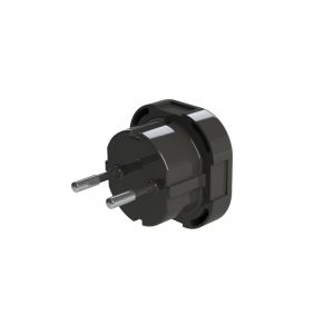 UK plug adapted for the EU