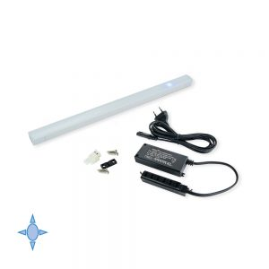Emuca A Diflex LED Wall light 350 mm cool white light with touch sensor