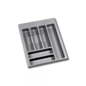 Emuca Optima cutlery tray for M45 drawers measures 386x482mm