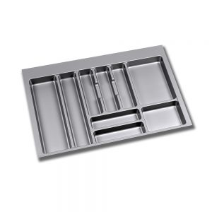 Emuca Optima cutlery tray for M80 drawers measures 736x482mm