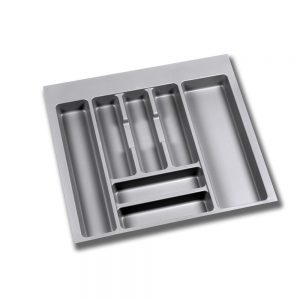 Emuca Optima cutlery tray for Vantage-Q drawers for 600 x 500 mm unit with thickness of 16 mm