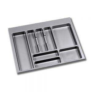 Emuca Optima cutlery tray for M70 drawers measures 636x482mm