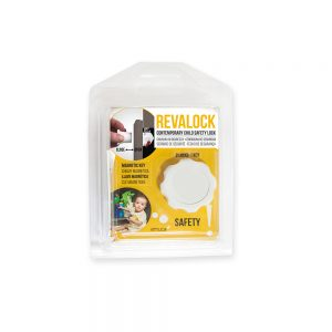 Emuca Revalock magnetic safety lock for doors and drawers