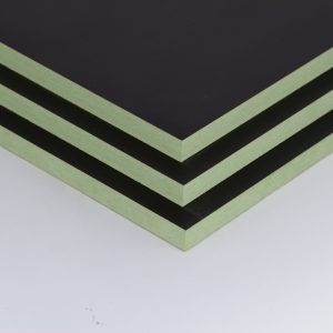 Black Melamine Faced MDF