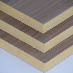 Black American Walnut Veneered MDF